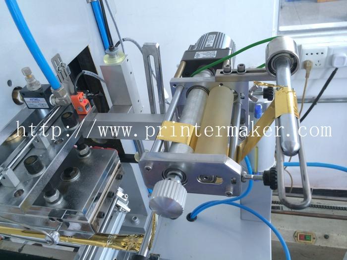 Automatic Flat and Round Hot Stamping Machine 15