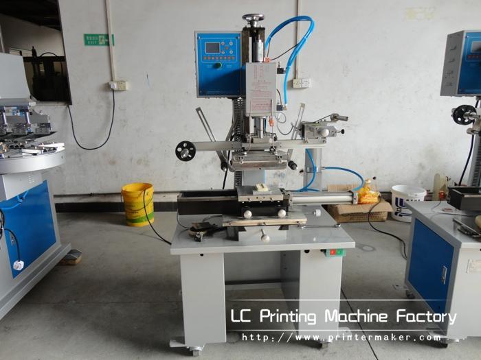 Automatic Flat and Round Hot Stamping Machine 16