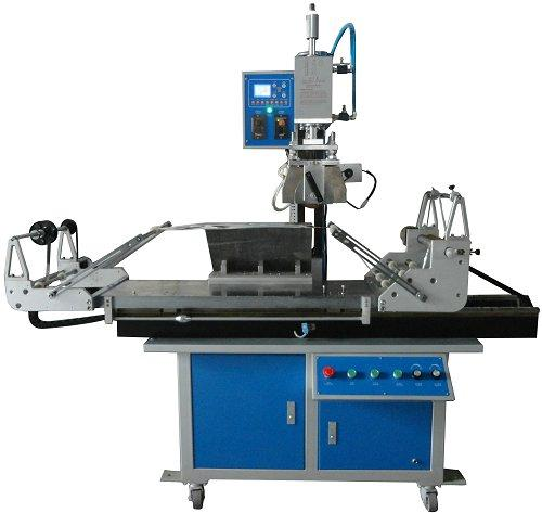 Rubber Roller Hot Stamping Machine for Plate and Round 1