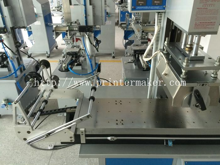 Rubber Roller Hot Stamping Machine for Plate and Round 10