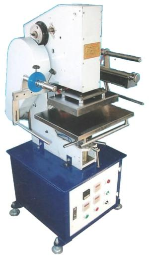 Electric and Mechanical Hot Stamping Machine 1