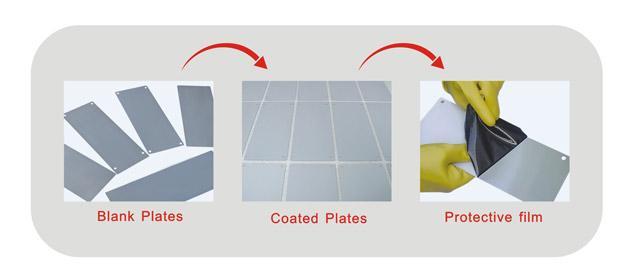 Coated Pad Printing Steel Plates 3