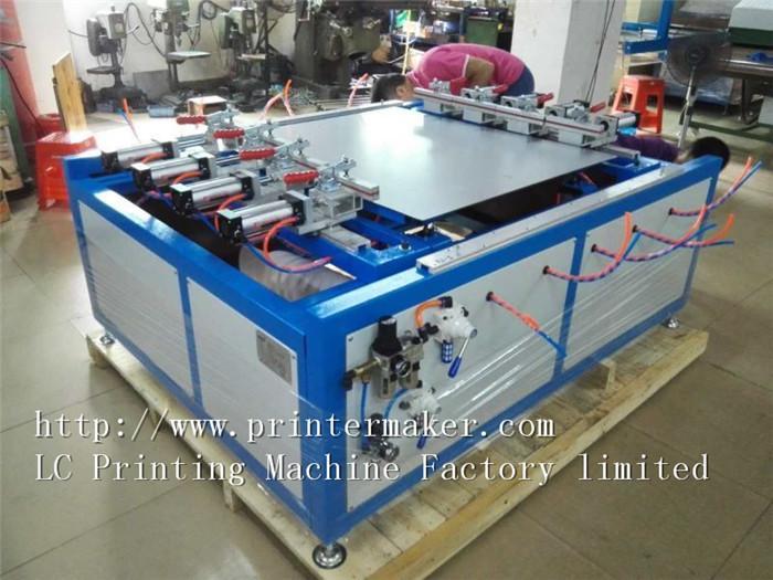 Pneumatic Screen Mesh Stretching Machine 4