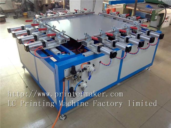 Pneumatic Screen Mesh Stretching Machine 6