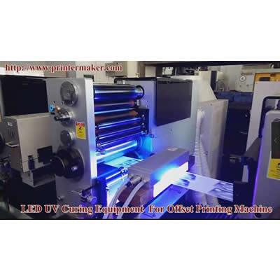 UV ink LED UV Curing System 1