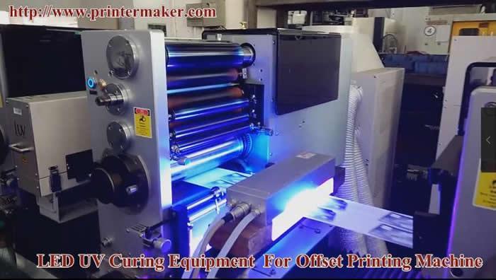 UV ink LED UV Curing System 5