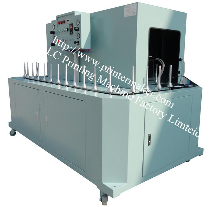 Rotary Flame Treatment Machine On Glass Bottles