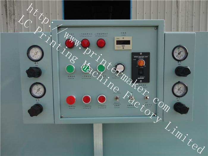 Rotary Flame Treatment Machine On Glass Bottles 5