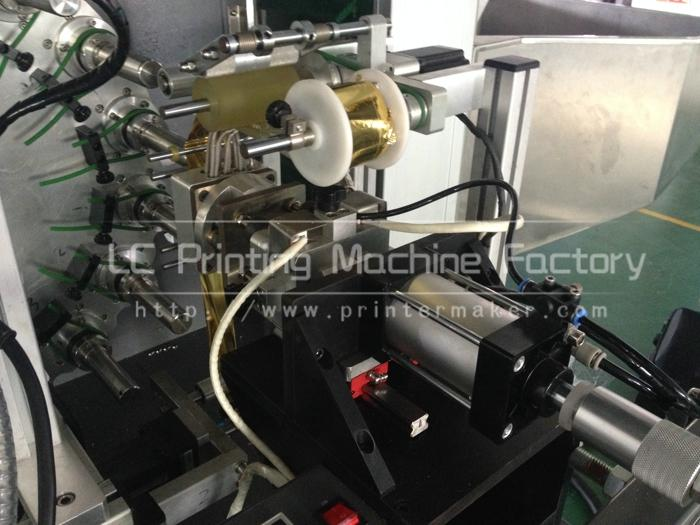 Automatic Hot Stamping Machine for Cap Top and Sidewall 8