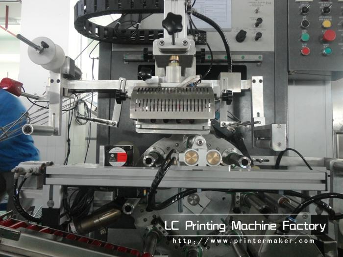 Automatic Cylinder Hot Stamping Machine For Caps Side Wall 6