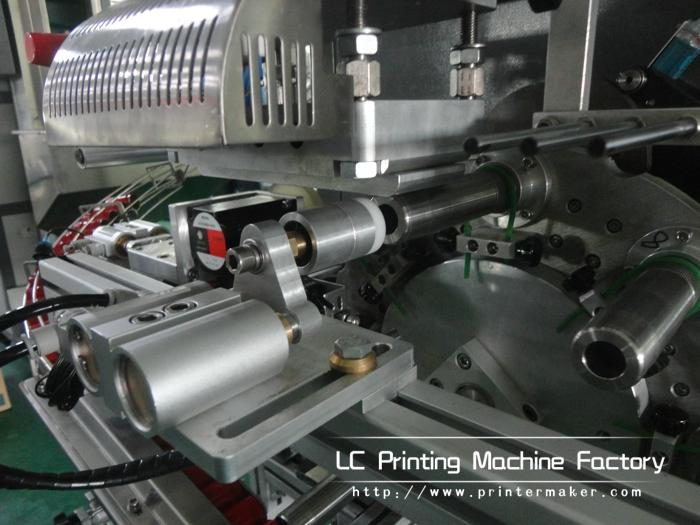 Automatic Cylinder Hot Stamping Machine For Caps Side Wall 7
