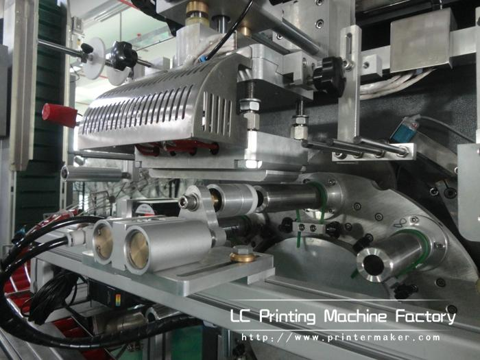 Automatic Cylinder Hot Stamping Machine For Caps Side Wall 9