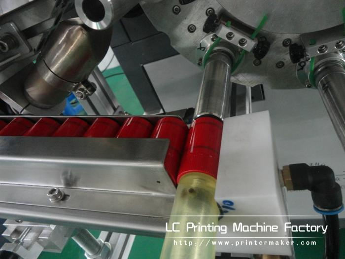 Automatic Cylinder Hot Stamping Machine For Caps Side Wall 10