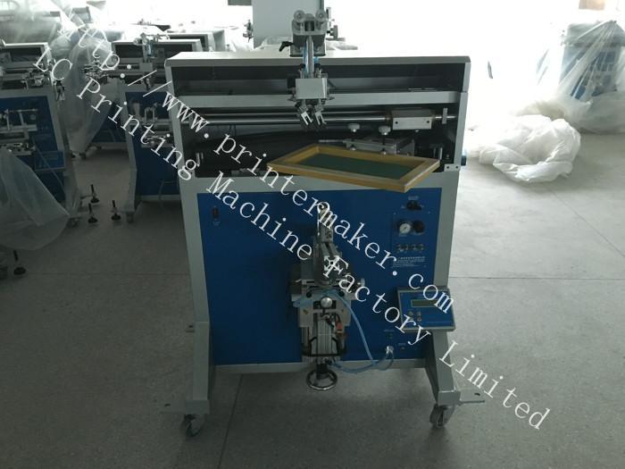 Cone Shape Jar Silk Screen Printing Machine 6