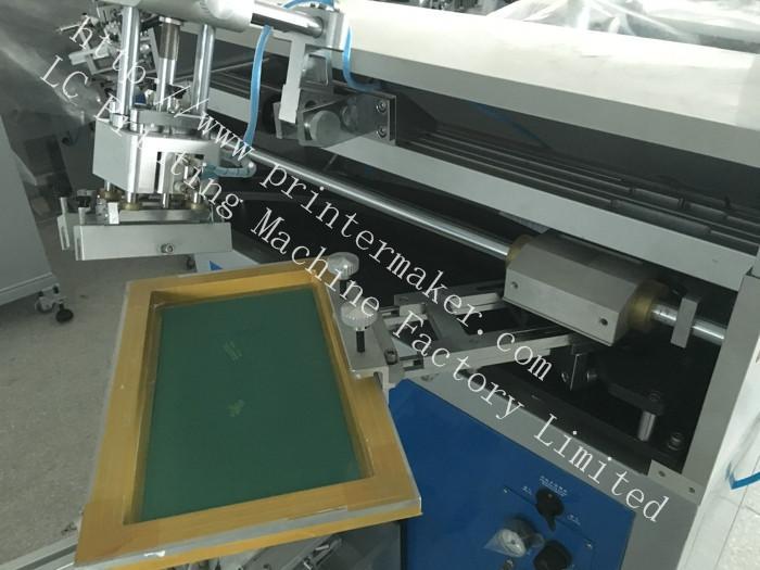 Cone Shape Jar Silk Screen Printing Machine 12