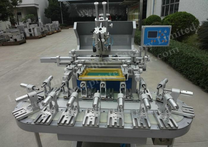Flat And Round Conveyor Belt Screen Printing Machine with 16 Stations 2