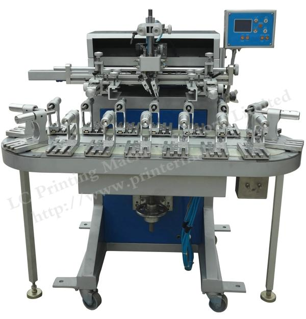 Flat And Round Conveyor Belt Screen Printing Machine with 16 Stations 1