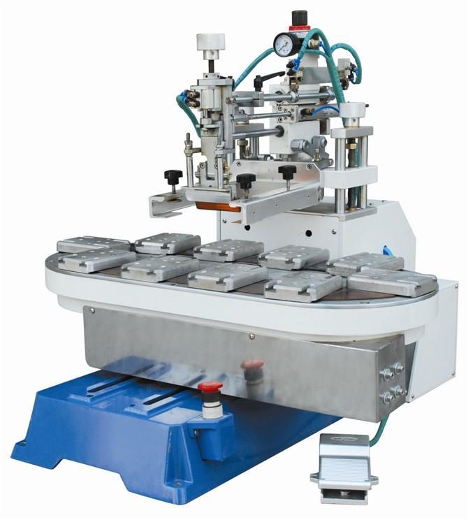 Mini Flat Screen Printing Machine with Conveyor 1