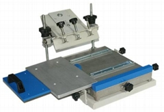 Manual Flatbed Screen Printer with Shuttle Working Table