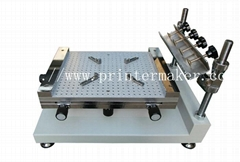 SMT Manual High Precision Screen Printing Machine
