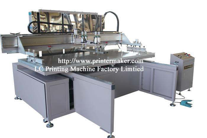 Large Format Glass Screen Printing Machine with Shuttle WorkTable 1