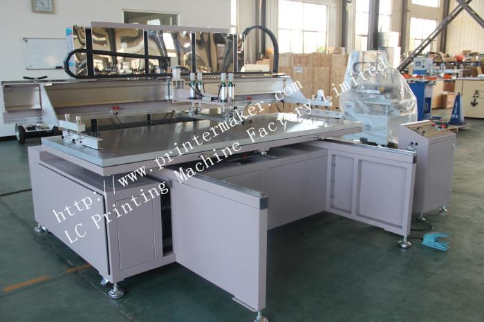 Large Format Glass Screen Printing Machine with Shuttle WorkTable 8