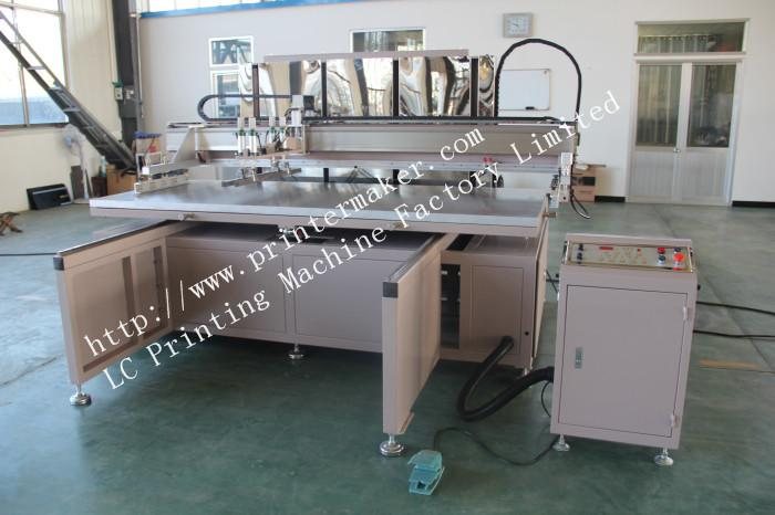 Large Format Glass Screen Printing Machine with Shuttle WorkTable 12