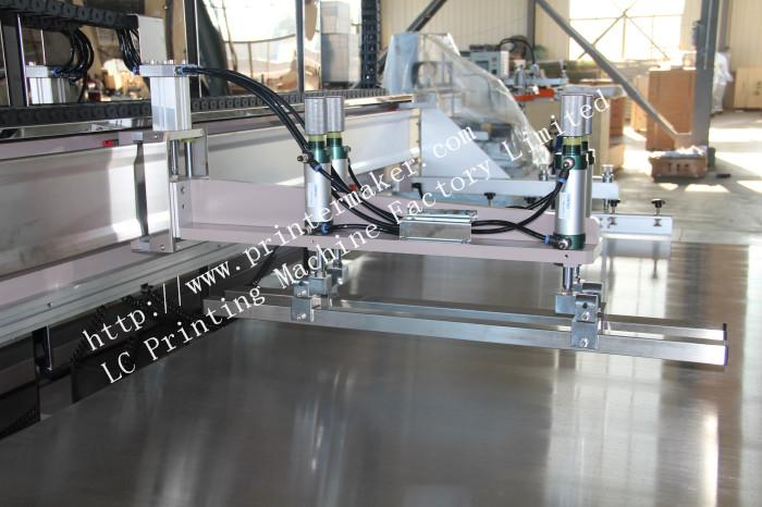 Large Format Glass Screen Printing Machine with Shuttle WorkTable 14