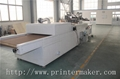 Flat Bed Screen Printing Machine with Auto Unload System and IR Tunnel 4