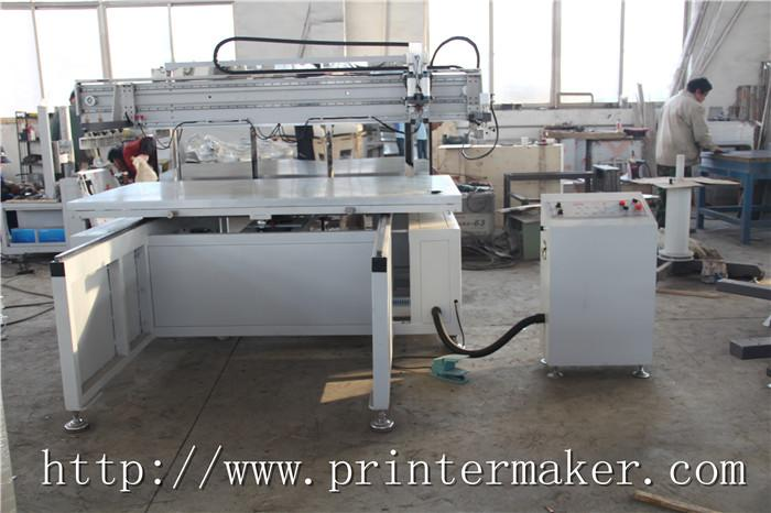 Flat Bed Screen Printing Machine with Auto Unload System and IR Tunnel 7