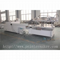 Flat Bed Screen Printing Machine with