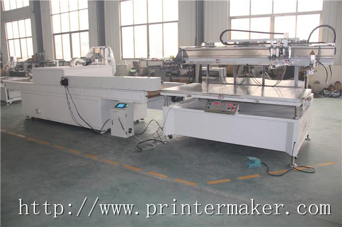 Flat Bed Screen Printing Machine with Auto Unload System and IR Tunnel 11