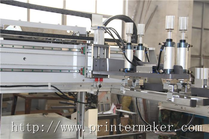 Flat Bed Screen Printing Machine with Auto Unload System and IR Tunnel 13