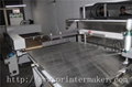 Flat Bed Screen Printing Machine with Auto Unload System and IR Tunnel 14