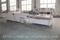 Flat Bed Screen Printing Machine with Auto Unload System and IR Tunnel 18