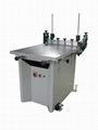 Manus screen printer with vacuum table