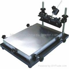 Manul screen printer