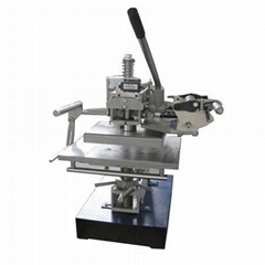 Manual operating Hot stamping machine