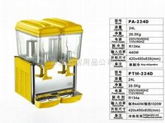 双缸冷饮机