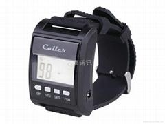 泰諾訊無線呼叫器TN5000手錶式中文接收主機