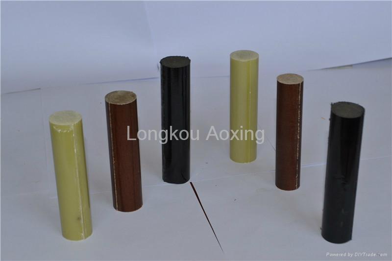 Epoxy Glass Fabric Laminated Rod 1