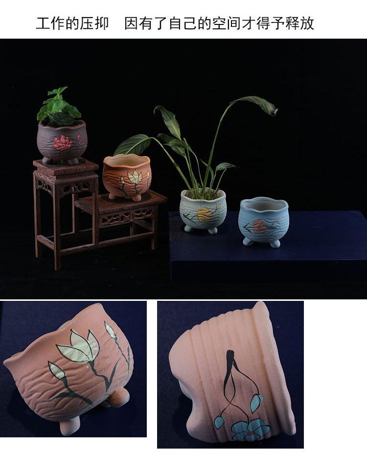 供應陶瓷多肉花盆 3