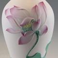 供應陶瓷蓮花花瓶中式家居裝飾品 2