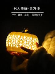 陶瓷镂空小夜灯