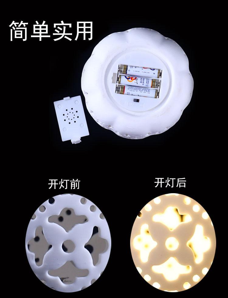 陶瓷鏤空小夜燈 4