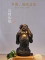 陶瓷佛像彌勒佛笑佛辦公室客廳桌