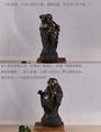 陶瓷佛像彌勒佛笑佛辦公室客廳桌面裝飾喬遷禮物開業送禮招財擺件 4