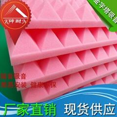 home theater silencing foam panel,China acoustic foam panel,Pyramid foam panel