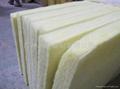 high quality glass wool board,heat insulation board 4