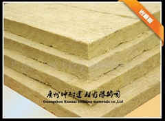 100KG/100MM rock wool board with GradeA fireproof